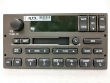 Lincoln cassette radio w RDS. OEM original stereo. Factory remanufactured