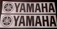 2 x Large Yamaha  R1 R6 R125 Fazer Motorcycle Boat etc Vinyl Sticker Decals