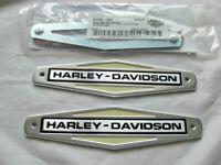 Harley Davidson Tank Embleme Tankschilder mit Adapter Kit Tankembleme 61771-66TB