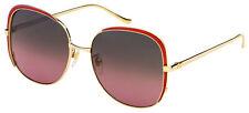 Gucci Gafas de sol GG0400S 003 Marco Dorado Lentes   Multicolor