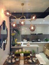 Lampadari da soffitto oro , Numero di luci 4-6