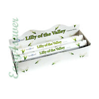 STAMFORD LILY OF THE VALLEY INCENSE STICKS PACK OF 6 (120 STICKS) - 383115