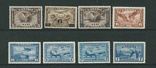 CANADA 1930-46 AIRMAILS (Scott C2-C9) VF MNH
