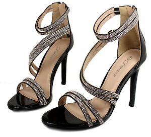 curious-23 Fashion Blink Pump Classics Party 4 inch High Heel Women Shoes Black