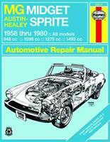 Mg Midget Austin-Healey Sprite 1958-1980 shop repair manual
