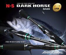 N.S Rod Black Hole DARK HORSE BASS C-692H 2 pieces Spinning Rod