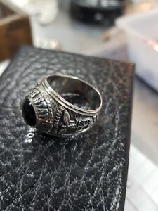 AIR FORCE  MENS RING  in silver