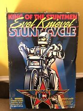 RARE 1970's King of the stuntmen EVEL KNIEVELSTUNT CYCLE
