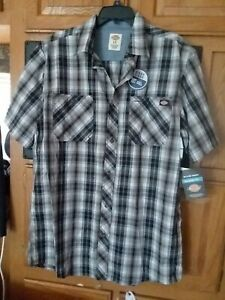 DICKIES MEN'S SIZE LT LARGE AND TALL SHORT SLEEVE SHIRT NWT!