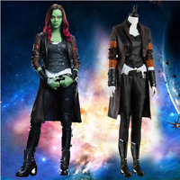 Guardians of the Galaxy Vol. 2 Gamora Cosplay Costume Outfit Halloween Suit