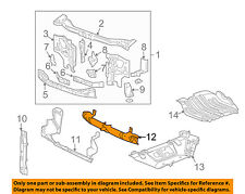 Hummer GM OEM 06-10 H3 Radiator Support-Air Baffle Duct Deflector 15866195