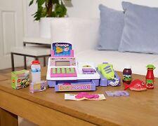 Supermarché Caisse Enregistreuse Jeu de rôle jouet épicerie Digital Calc avec scanner Violet