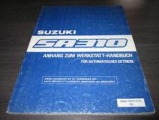 Werkstatthandbuch Suzuki Swift SA 310 für Automatik Getriebe Typ AA von 03/1985