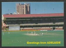 THE SIR DONALD BRADMAN CRICKET STAND AT THE ADELAIDE OVAL POSTCARD c1980