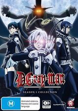 D.Gray-Man (TV) Season 1 Collection (Eps 1-51) NEW R4 DVD
