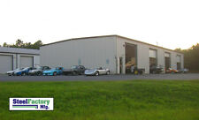 Steel Factory Mfg 40x60x14 Metal Frame I Beam Workshop Storage Garage Building