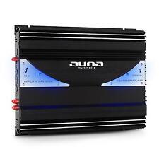 AMPLI VOITURE CAR AUTO HIFI SONO 4 3 2 CANAUX NOIR AVEC LED BLEUE 2800W FILTRES