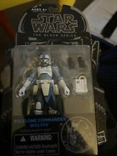 Star Wars The Black Series Clone Commander Wolffe Action Figure #12 Blue Line