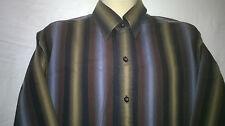 Mens Colorado Shirt, M, Long Sleeves, 100% Cotton, Stripes