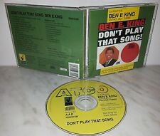 CD BEN E KING - ANTHOLOGY THREE - DON'T PLAY THAT SONG