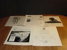 MARINE MIDLAND BANKS  5 ORIGINAL VINTAGE FORTUNE MAGAZINE ADS 1933-1965