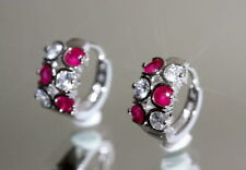 Lab-Created White Gold Filled Ruby Fine Jewellery