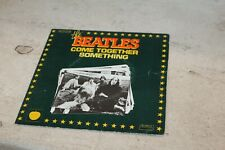 pochette uniquement the beatles come together something (1976)