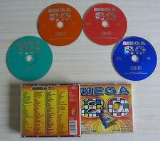 RARE BOX 4 CD MEGA 80 COMPILATION IMAGE GOTAINER SABRINA DESIRELESS SCOTCH