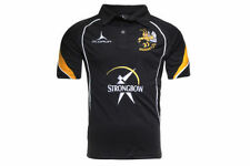 Maillots de rugby noirs