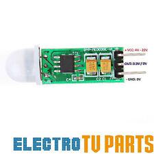 Mini Infrarrojo Pir hc-sr505 Sensor de movimiento precisa Detector de infrarrojos Nuevo vendedor de Reino Unido