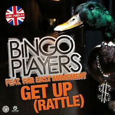 BINGO PLAYERS FEAT. FAR EAST MOVEMENT - GET UP (RATTLE)  CD SINGLE NEW+