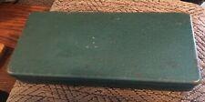 "Vintage Metal Box Tin Tackle Tools 10 X 4.5"" Unmarked"