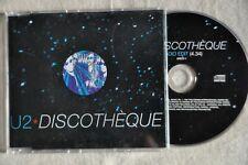 "U2 ""Discotheque"" RARE UK promo single 5""cd"
