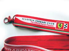 Scuderia Ferrari F1 Club Member Neck Lanyard Vettel Leclerc Alonso Live Passion