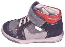 Babybotte chicos rasguño Azul Marino Gris Y Rojo Zapatos UK 5 EU 21 nos 5.5 RRP £ 53.00