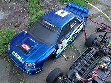 tamiya rc cars Tt01 Subaru Impreza Wrc 4wd 1:10 Scale Kit Radio Gear Battery
