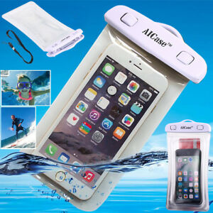 Universal Waterproof Case Phone Pouch Dry Bag for iPhone 8 7 6 Plus 5s SE Cover
