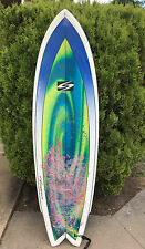 Surfboard 5'10 SurfTech Fishtail- includes fins