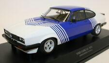 Minichamps 1/18 Diecast 155 788600 - 1978 Ford Capri 3.0 White w/ blue stripes