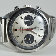 Dugena by Heuer 73353 Carrera Panda Valjoux 7733, very rare Watch!
