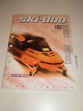 SKIDOO 1997 PARTS CATALOG MANUAL SKANDIC SUPER WIDE TRACK / WIDE TRACK LC