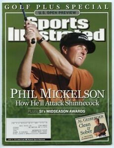 SI: Sports Illustrated June 15, 2004 Golf Plus Special: Phil Mickelson U.S. Open