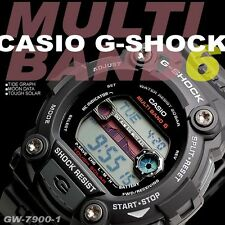 CASIO G-SHOCK SOLAR ATOMIC MENS WATCH GW-7900-1 FREE EXPRESS BLACK GW-7900-1ER