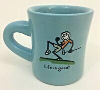 Life is Good Coffee Cup Mug Golf Golfer New Do What You Like Like What you Do