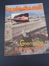 vie du rail 1985 1983 GRENOBLE VOIRON SAINT GEORGES COMMIERS PONT CLAIX URIAGE