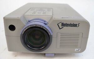 Sharp Notevision 5 XG-NV5XB 3 LCD Projector Home Theater Conferencing 1467 Hrs