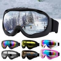 Anti-Fog Snow Sport Goggles Dual-layer Lens Snowboard Ski Sun Glasses Eyewear US