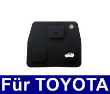 1x Schlüssel Tastenfeld Tastengummi für TOYOTA Corolla Avensis Aygo RAV4