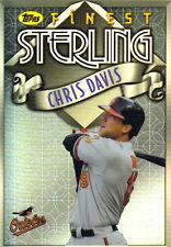 """2014  TOPPS    """"FINEST""""   STERLING  #TS-CD  CHRIS DAVIS"""
