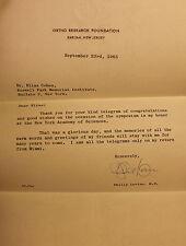 Dr. Philip Levine Letter 1965 Hematologist Doctor Medicine Blood Science